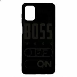 Чохол для Samsung M51 Boss mode