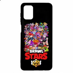Чехол для Samsung M51 Brawl Stars all characters art