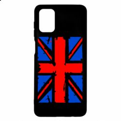 Чехол для Samsung M51 Британский флаг