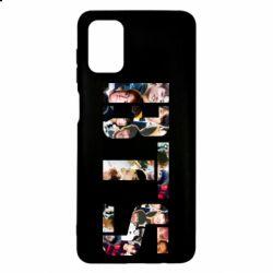 Чехол для Samsung M51 BTS collage