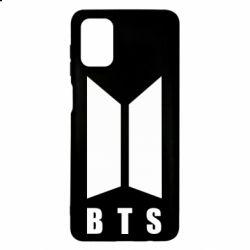 Чехол для Samsung M51 BTS logotype