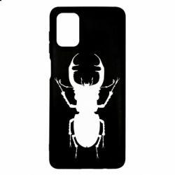Чехол для Samsung M51 Bugs silhouette