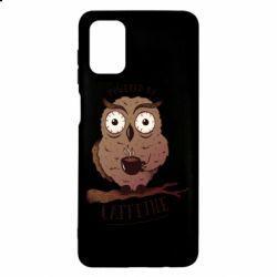 Чохол для Samsung M51 Caffeine Owl