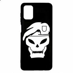 Чехол для Samsung M51 Call of Duty Black Ops logo