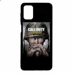 Чохол для Samsung M51 Call of Duty WW2 poster