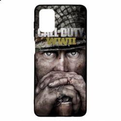 Чехол для Samsung M51 Call of Duty WWII
