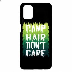 Чехол для Samsung M51 Camp hair don't care