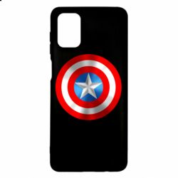 Чехол для Samsung M51 Captain America 3D Shield