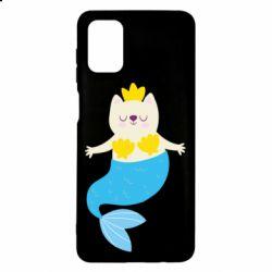 Чохол для Samsung M51 Cat-mermaid