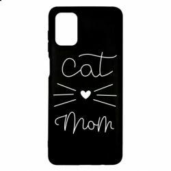Чохол для Samsung M51 Cat mom