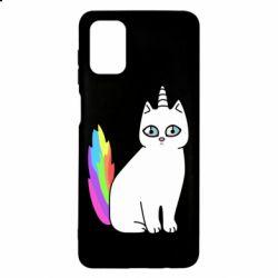 Чехол для Samsung M51 Cat Unicorn