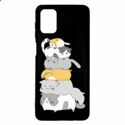 Чохол для Samsung M51 Cats