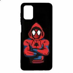 Чохол для Samsung M51 Людина павук в толстовці