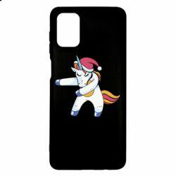 Чохол для Samsung M51 Christmas Unicorn
