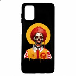 Чохол для Samsung M51 Clown McDonald's skeleton