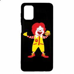 Чохол для Samsung M51 Clown McDonald's