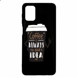 Чехол для Samsung M51 Coffee is always a good idea.