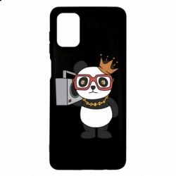 Чохол для Samsung M51 Cool panda