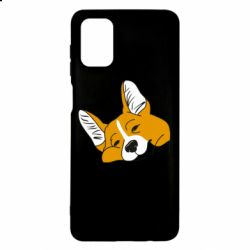 Чохол для Samsung M51 Corgi is dozing
