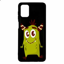 Чохол для Samsung M51 Cute green monster
