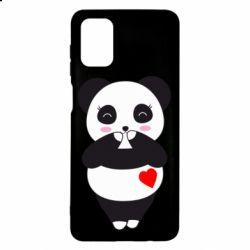 Чохол для Samsung M51 Cute panda