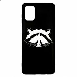 Чохол для Samsung M51 Cute raccoon face