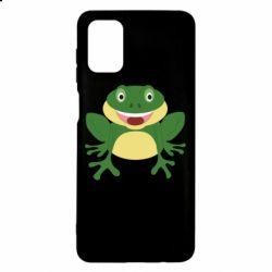 Чехол для Samsung M51 Cute toad