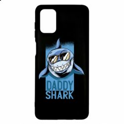 Чехол для Samsung M51 Daddy shark