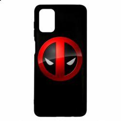 Чехол для Samsung M51 Deadpool Logo
