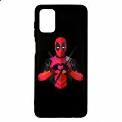 Чохол для Samsung M51 Deadpool Love