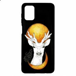 Чехол для Samsung M51 Deer and moon