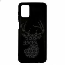 Чохол для Samsung M51 Deer from the patterns