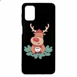 Чехол для Samsung M51 Deer tea party