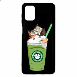 Чехол для Samsung M51 Delicious cat
