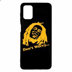 Чехол для Samsung M51 Don't Worry (Bob Marley)