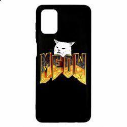 Чехол для Samsung M51 Doom меов cat