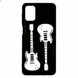 Чохол для Samsung M51 Дві гітари