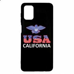 Чехол для Samsung M51 Eagle USA