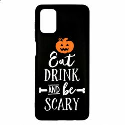 Чохол для Samsung M51 Eat Drink and be Scary