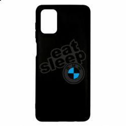 Чохол для Samsung M51 Eat, sleep, BMW