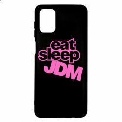 Чехол для Samsung M51 Eat sleep JDM