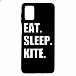 Чохол для Samsung M51 Eat, sleep, kite