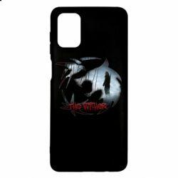Чехол для Samsung M51 Emblem wolf and text The Witcher