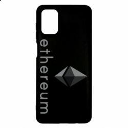 Чехол для Samsung M51 Ethereum