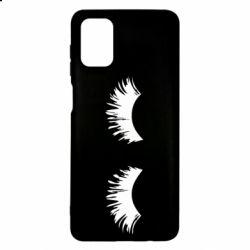 Чохол для Samsung M51 Eyelashes