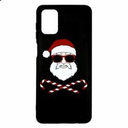 Чохол для Samsung M51 Fashionable Santa