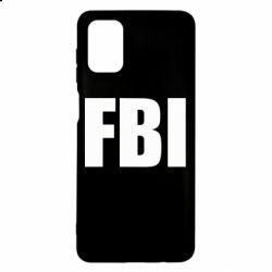 Чехол для Samsung M51 FBI (ФБР)