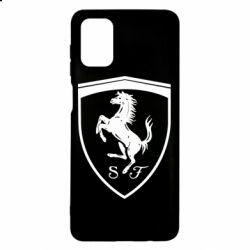 Чохол для Samsung M51 Ferrari horse