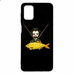 Чохол для Samsung M51 Fisherman and fish