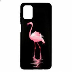 Чохол для Samsung M51 Фламинго